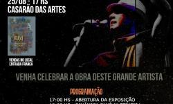 Evento 'Viva Paul', em homenagem ao artista Paulinho Teixeira, marcará lançamento do seu livro
