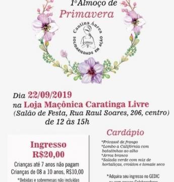 Cantina Áurea promove 1º Almoço de Primavera neste domingo
