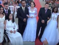 APAC realiza casamento comunitário para nove recuperandos