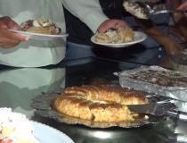 Tarde de tortas do Centro Espírita Bezerra de Menezes é sucesso de público