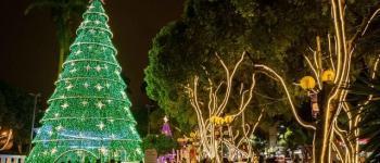 Luzes do Natal Iluminado são acesas em Governador Valadares