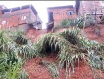 Chuvas causam destruição em Caratinga