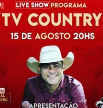 Show com cantores de todo o Brasil transmitido pela TV Sistec terá sorteio carro 0km
