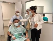Rogério Soares deixa UTI de hospital