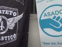 Motoclube realiza doação para Asadom