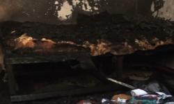 Mãe e dois filhos ficam feridos após incêndio em residência em Caratinga