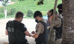 POLICIAL MILITAR É BALEADO NO ROSTO DURANTE OCORRÊNCIA EM SANTA RITA DE MINAS