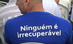 Apac Inhapim inaugura curso de elétrica predial para recuperandos.