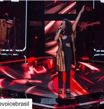 Cantora ipatinguense conquista todos os jurados do The Voice Brasil