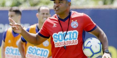 'Lei do ex', amizade com Rodrigo Santana, força do Horto: Roger, do Bahia, comenta duelo contra o Atlético