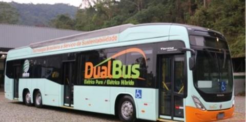 Empresa apresenta ônibus elétrico com tecnologia 100% nacional