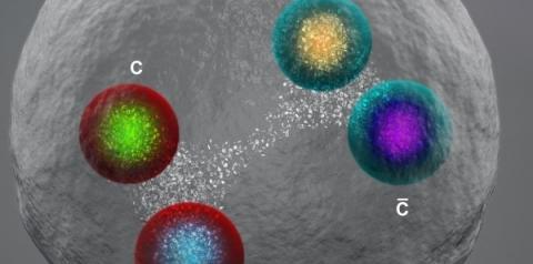 Pesquisadores do LHC descobrem uma nova partícula exótica