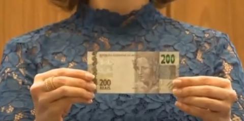 Novas notas de 200 reais começaram a circular nesta quarta-feira