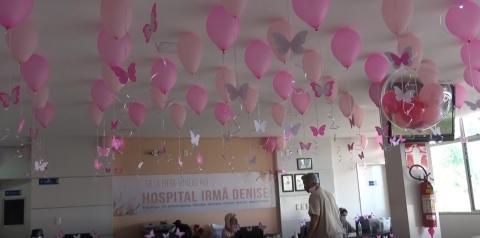Casu promove campanha de prevenção do câncer de mama