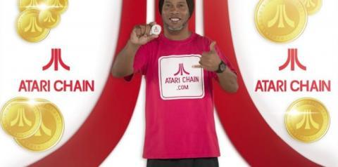 Ronaldinho Gaúcho divulga criptomoeda da Atari em rede social