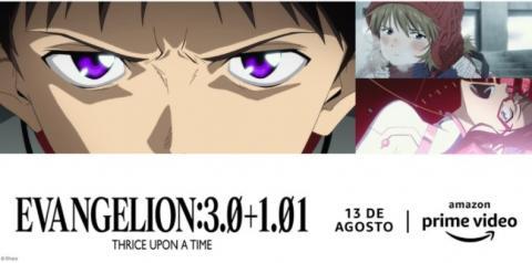 Novo filme de Evangelion chega ao Amazon Prime Video em agosto