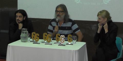 Sexto festival de cinema de Caratinga exibe curtas cinematográficos e conta com presença de diretores e atores.
