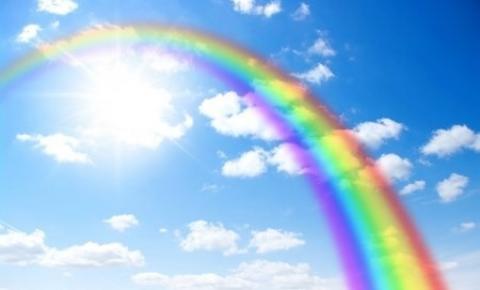 Arco-íris no caminho