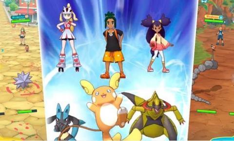 Pokémon Masters já está disponível para Android e iOS