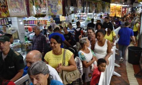 Festa pelos 90 anos do Mercado Central de BH celebra clientes e lojistas