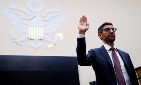 Em audiência, presidente do Google é questionado sobre privacidade de dados e nega viés político na empresa