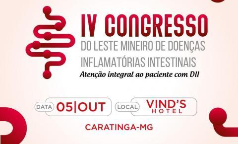 ALEMDII organiza primeiro workshop e IV congresso sobre Doenças Inflamatórias Intestinais em Caratinga