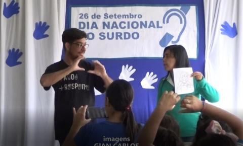 Escola Estadual sSinfrônio Fernandes promove evento em comemoração ao Dia Nacional dos Surdos