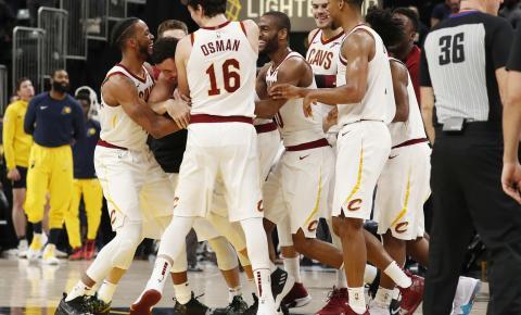 Cavaliers encerram série de sete vitórias dos Pacers com cesta no último segundo