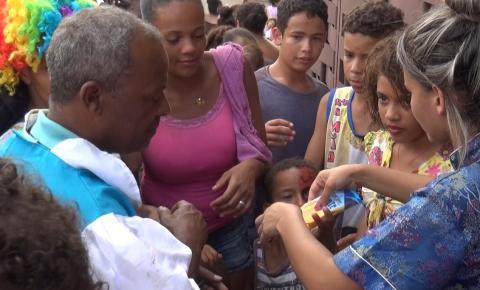 Comunidade Santa Isabel também realiza festa para crianças