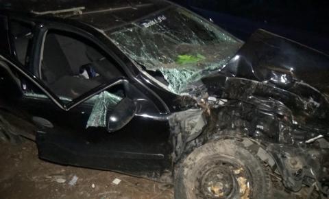 Cadeirinha salva criança em acidente de trânsito em Inhapim