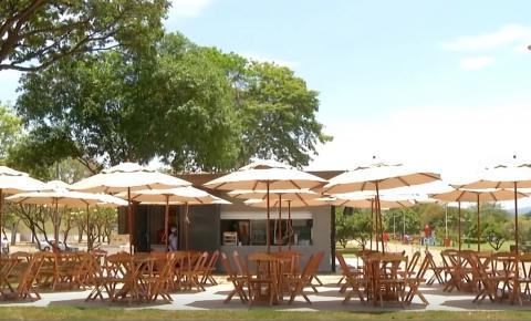 Quiosques começam a funcionar no Parque Ipanema