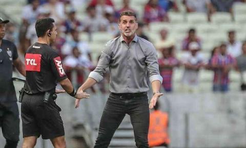 Mancini aprova mudanças e destaca superação do Atlético em empate com Fortaleza