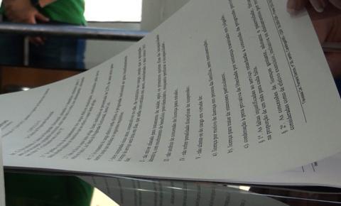 Prefeitura protocola na Câmara novo plano de cargos e salários