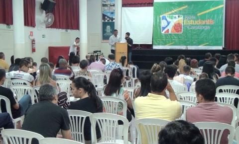 Atletas estudantis de Caratinga recebem premiação por desempenho em jogos escolares