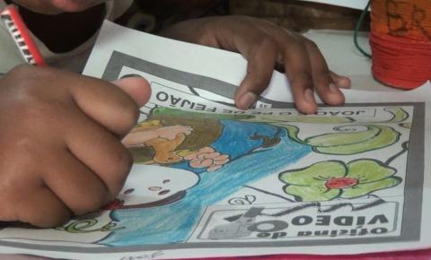 Projeto leva recreação e acolhimento a crianças e adolescentes no Bairro das Graças