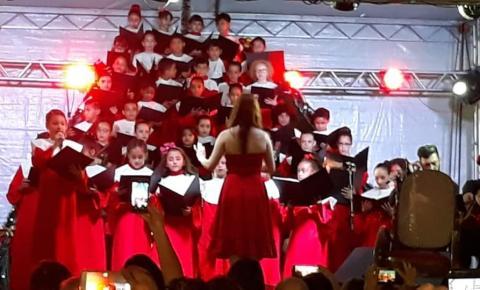 Escola Princesa Isabel realiza mais uma cantata de Natal