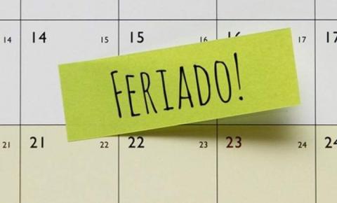 Veja o calendário de feriados nacionais e de pontos facultativos em 2020