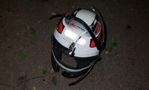 Motociclista morre ao bater contra árvore na MG-425, em Caratinga