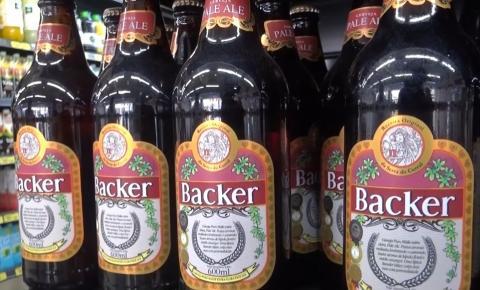 Rede de Supermercados de Caratinga recolhe marcas da cervejaria Backer das prateleiras