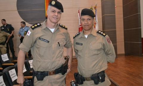 Tenente Coronel Márcio assume o Comando do 47º BPM – Muriaé - MG
