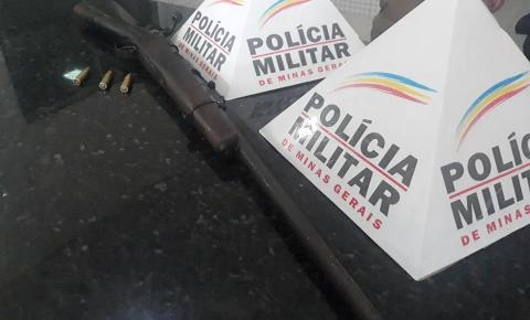 Militares apreendem fuzil em Caratinga com jovem de 19 anos