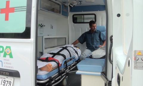 Morador de Imbé de Minas é transferido em helicóptero dos bombeiros a BH após acidente em cachoeira