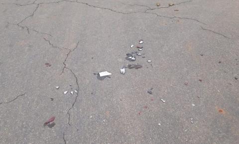 Moto colide com carro e motociclista de 70 anos morre no trevo de Entre Folhas