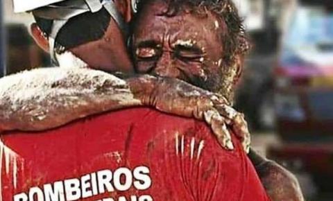 """Jornal espanhol sugere que """"Prêmio Nobel da Paz"""" seja entregue aos bombeiros de Brumadinho."""