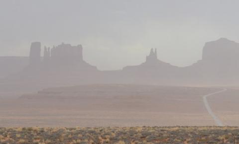 Nuvem de poeira gigantesca viaja 10 mil km do Saara até as Américas