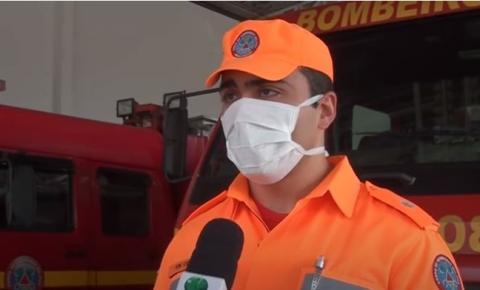 Nova farda dos bombeiros militares garante maior visibilidade durante ocorrências