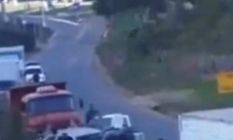 Abordagem policial em rodovia termina em um criminoso ferido