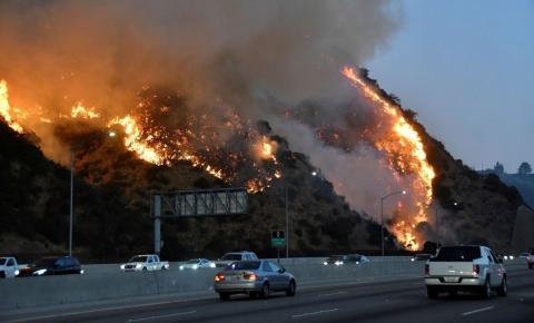 Califórnia busca ajuda para combater incêndios florestais