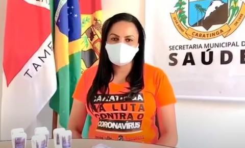 Secretária de saúde de Caratinga fala sobre seu estado de saúde após ela, o marido e o filho contraírem coronavirus