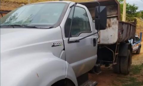 Polícia Militar de Santa Rita de Minas recupera caminhão produto de estelionato em Ipatinga